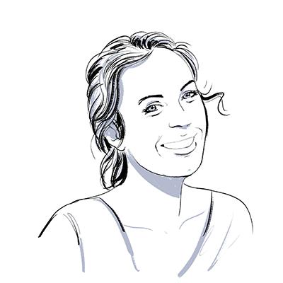 Julie (Cardebat), directrice service design et langage