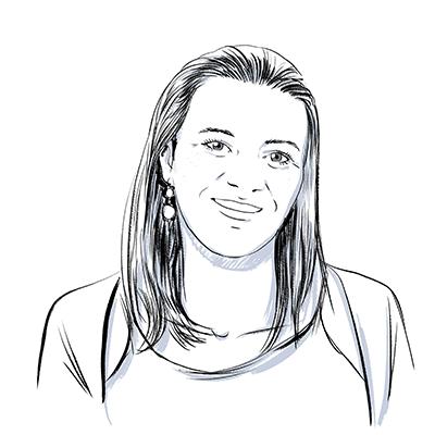 Marie-Caroline, responsable de production de Labrador Language Services