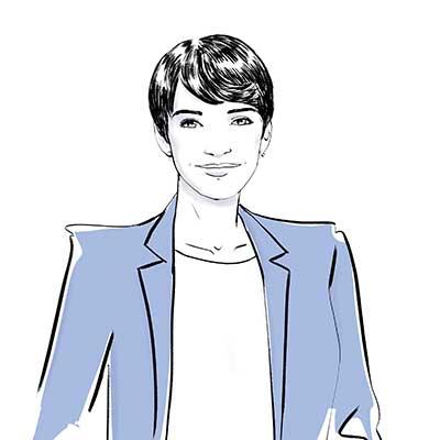 Camille (croisé), directrice commerciale et expérience client